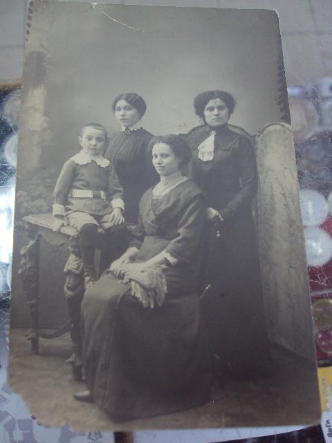 фотография семейная старинная №1014