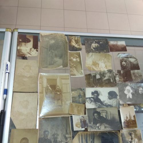 фотография старинная лот 23 шт  №920