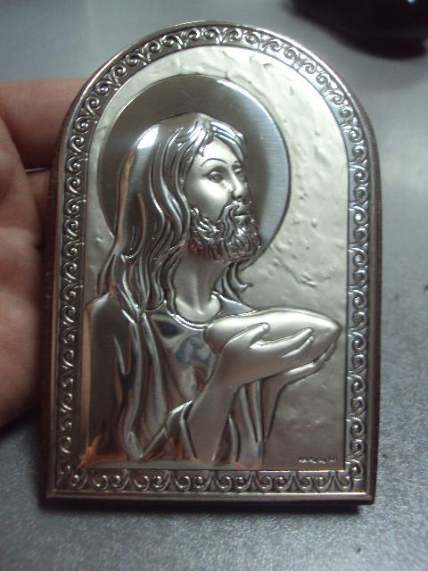 икона иконка серебро италия иисус христос №12