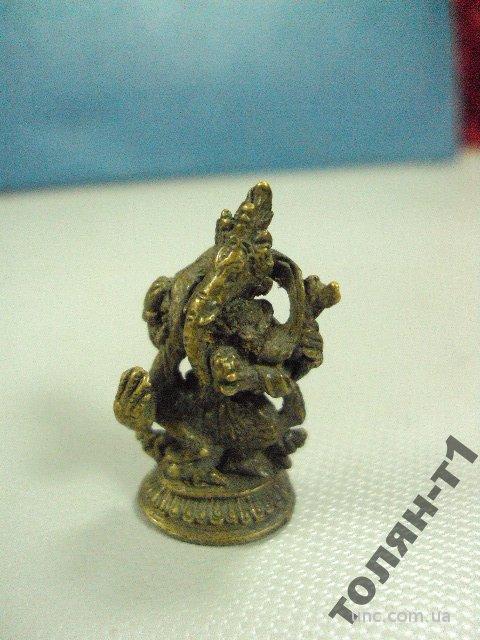 индия генеши миниатюра бронза