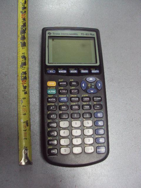 калькулятор calculator texas instruments ti-83 plus рабочий №5614