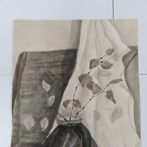 Картина натюрморт акварель 27 х 38 см №166