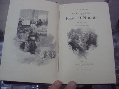 книга альфонс доде, rose et ninette, париж №75
