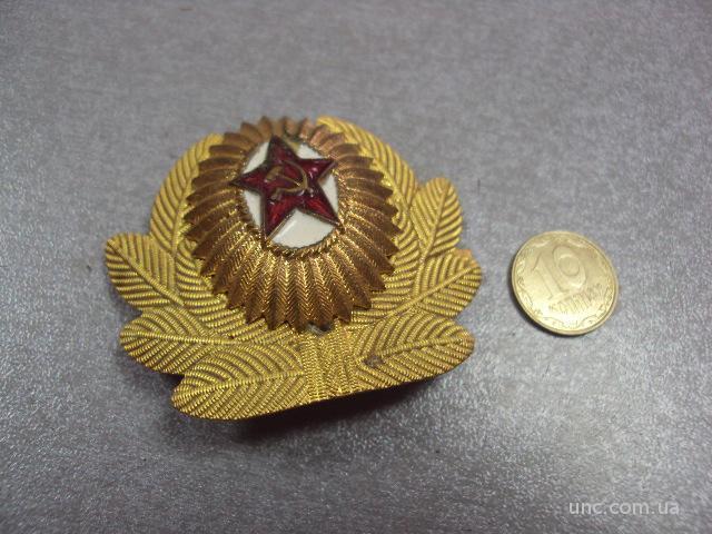 кокарда офицер вс ссср составная тяжелая №2640