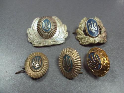 кокарда украина тризуб лот 5 шт №10072