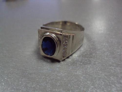 Кольцо мужское перстень печатка серебро 925 проба украина вес 7,61 г размер 21 №10099