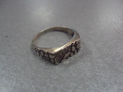 """кольцо перстень мужской  серебро 925"""" украина 4,34 г 19 размер"""