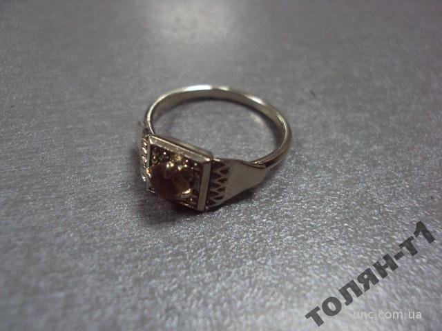 """кольцо серебро 875"""" 2,75 г"""