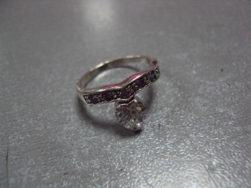 Кольцо женское капелька серебро 925 проба украина вес 2,23 г размер 16 №10080