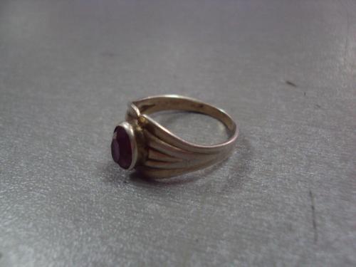 """кольцо женское серебро 875"""" ссср вес 3,09 г, размер 17,5 №520"""