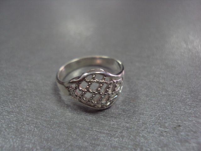 """кольцо женское серебро 925"""" украина 2,24 г  16 размер"""