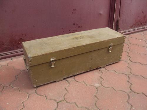 Коробка МТ 17 - 50 ящик 1972 год 72 х 22 см, высота 22,5 см №3260