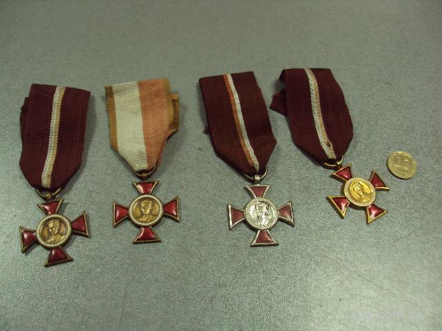 награда Крест Красицкого Польша лот 4 шт №10340