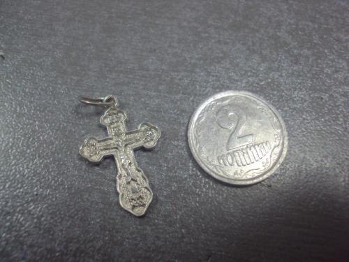 """крестик серебро 925"""" вес 0,76 г №27"""