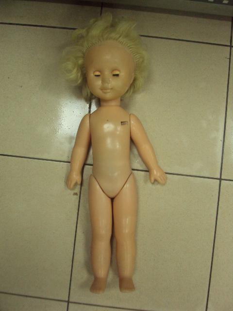 кукла ссср редкая Ворошиловград (Луганск) пластмасса №778