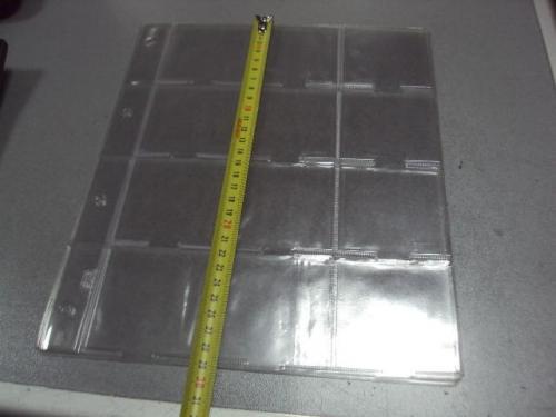 лист листы для монет под хлдеры формат А4  лот 3 шт №1731