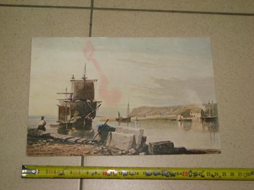 литографии картина №8057