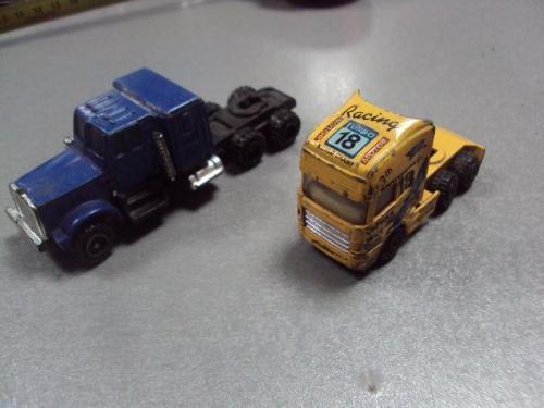 машинка контейнеровоз лот 2 шт №1182