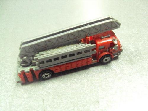 машинка мини модель макетная постановочная пожарная машина №с 8077