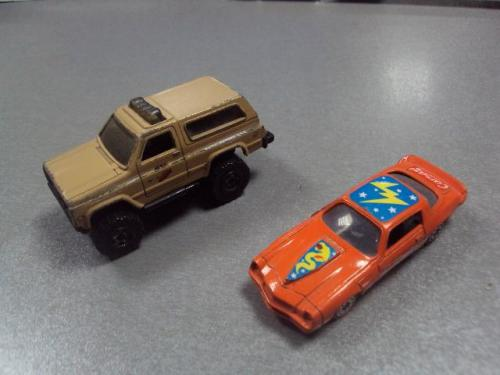 машинка Nissan Patrol Chevrolet Camaro тайланд лот 2 шт №1205