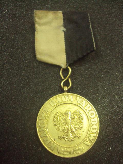 медаль польша 1945 за победу и свободу №10444