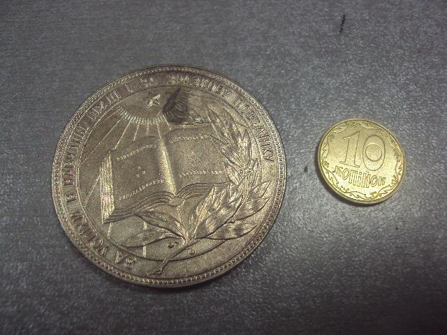 медаль школьная урср за окончание школы №10491