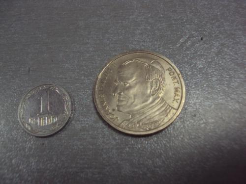 жетон медаль ватикан папа иоанн павел II фатима 13 мая 1982 №7956