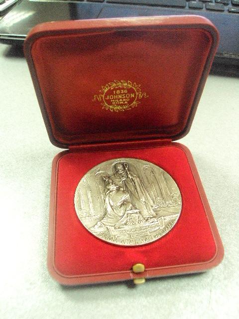 медаль ватикан tolle et lege CCCLXXXVI Baptisma Sancti Augustini №8986