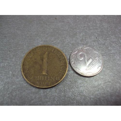 монета австрия 1 шиллинг 1965 №9285