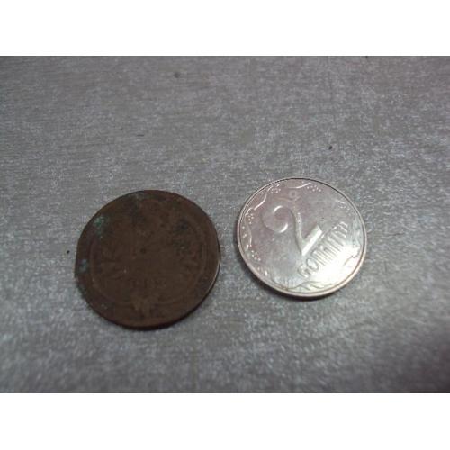 монета австро-венгрия 2 геллера 1893 №9347