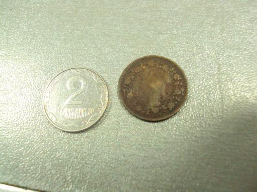 монета индия 1/12 анны 1939 георг VI №8363