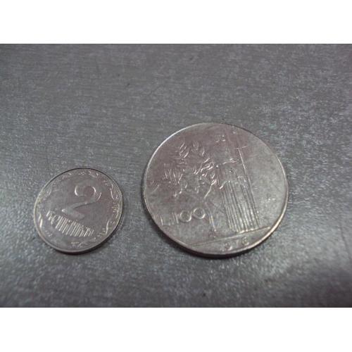 монета италия 100 лир 1976 №9017