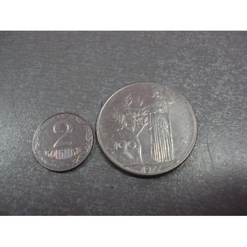 монета италия 100 лир 1977 №9011