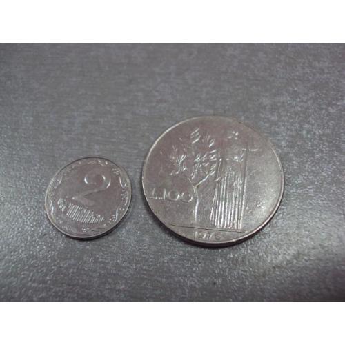 монета италия 100 лир 1977 №9023