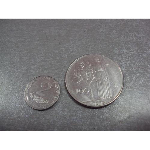 монета италия 100 лир 1979 №9020