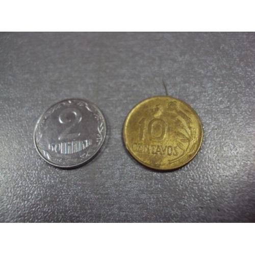 монета перу 10 сентаво 1974 №8580