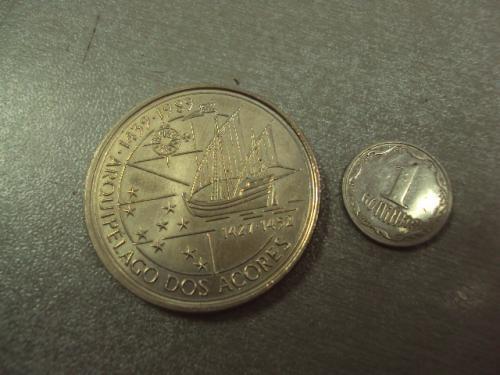 монета португалия 100 эскудо 1989 №8078
