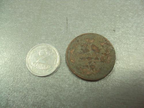 монета россия 1 копейка 1819 №6054