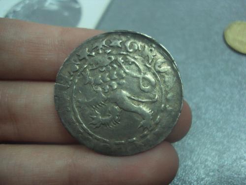 монета средневековье пражский грош карл 4 люксембургский №395