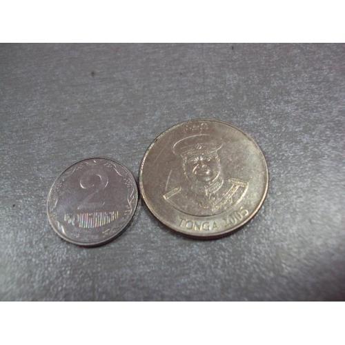 монета тонга 10 сенити 2005 №8769