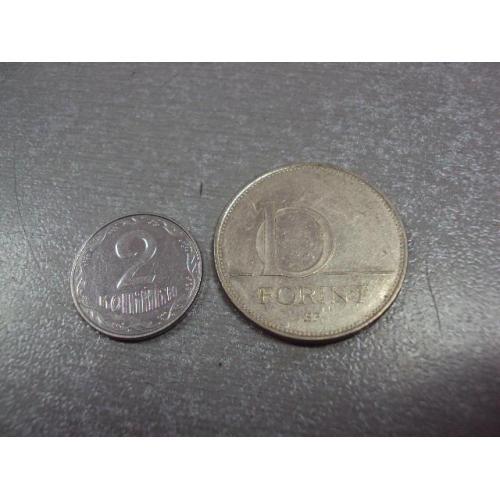 монета венгрия 10 форинтов 2001 №9003