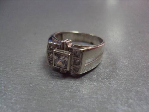 мужское кольцо перстень серебро 925 проба украина вес 6,08 г размер 18 №1342
