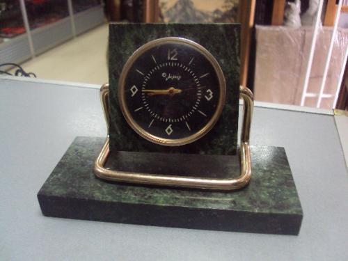 настольные часы молния 1 класс змеевик 1965 год №6159