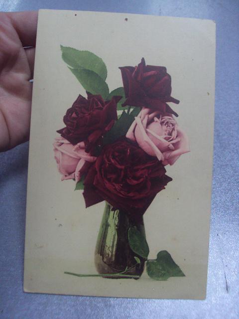 открытка букет роз германия 1911 №1623