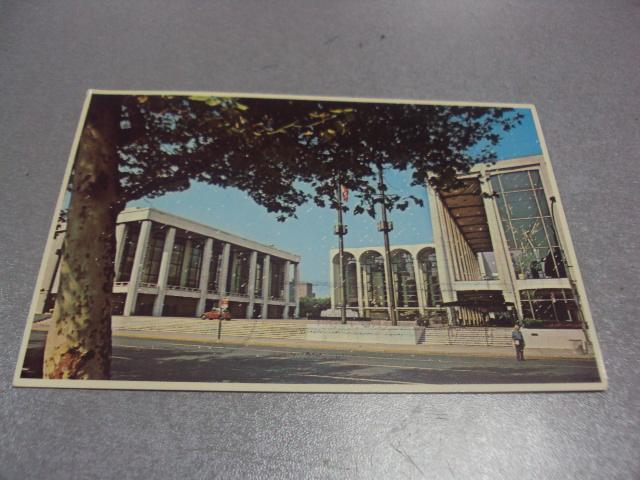 открытка  линкольн центр сша №917