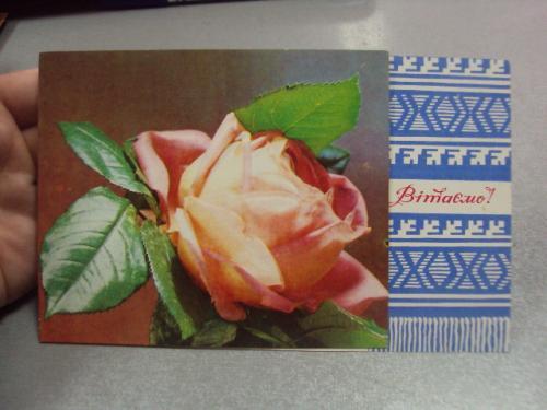 открытка поздравляем приветствуем якименко 1975 №4427