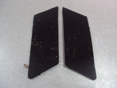 петлицы черные вс ссср №4674