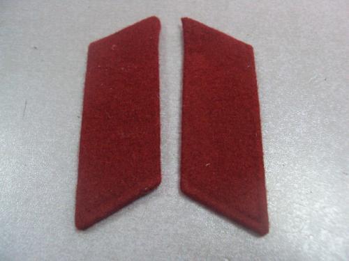 петлицы красные мвд вв ссср №4675