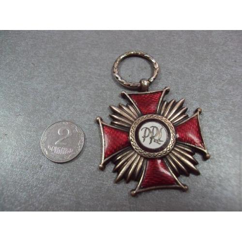 польша крест за заслуги 2 степень №8824