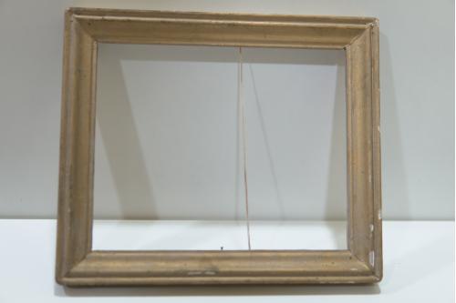 Рама для картины рамка 24,2х28,5 см, толщина 2,3 см, ширина 3 см №114